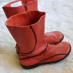Hispanitas Coral Colored Boots